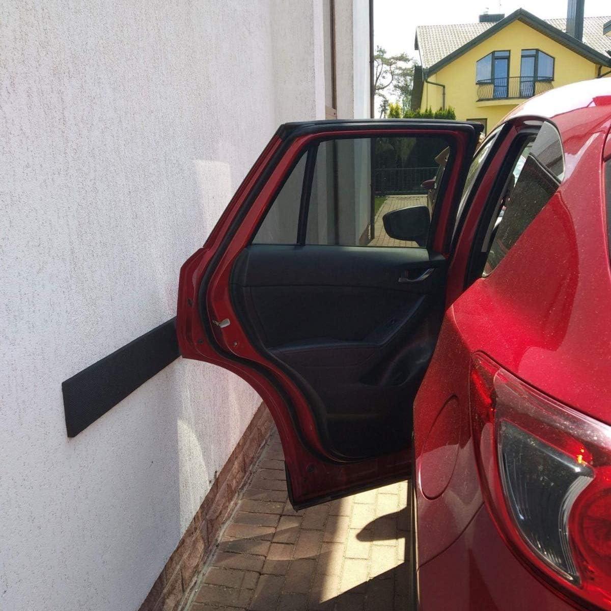 TOSHIN Garagen Wandschutz selbstklebend 40 x 12 x 1,5 cm T/ürkantenschutz T/ürkantenschoner f/ür Auto und Garagenwand 5er Set Streifen