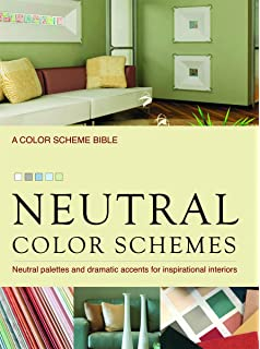 neutral color schemes neutral palettes and dramatic accents for inspirational interiors - Books About The Color Green