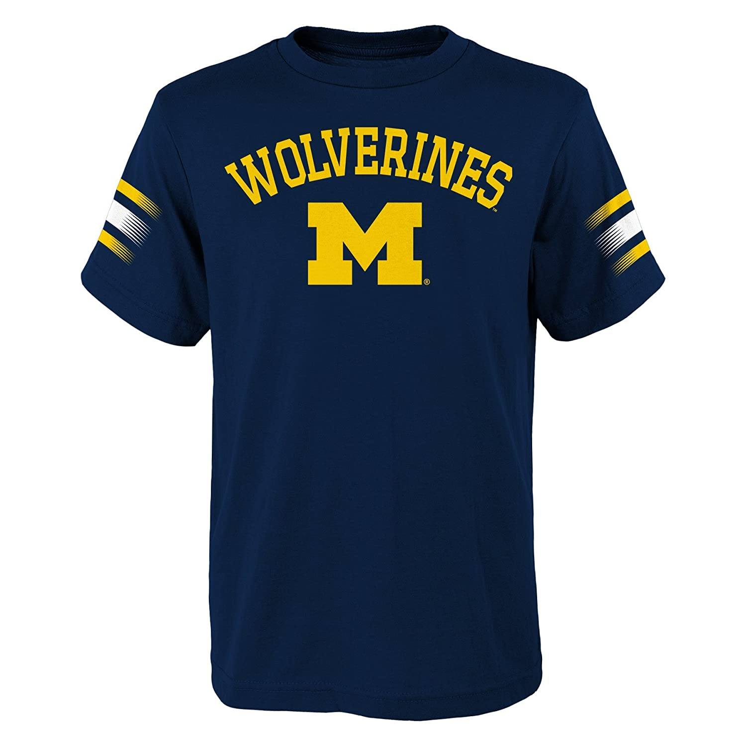 Outerstuff Michigan Wolverines Baby Short Sleeve Tee