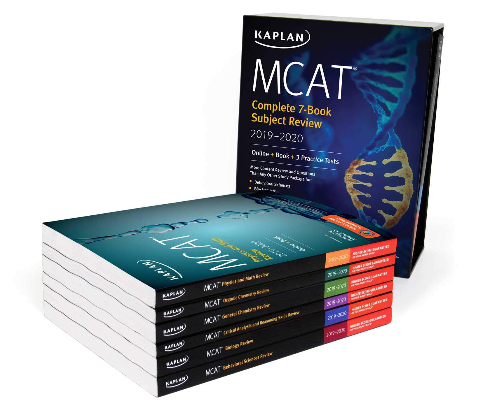 MCAT Complete 7-Book Subject Review 2019-2020: Online + Book