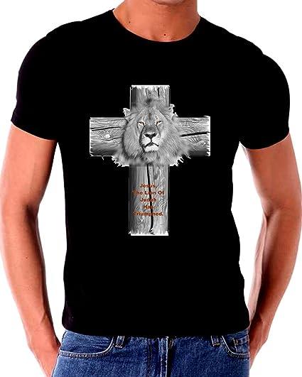 514ce341 The Lion Of Judah Has Truimped Jesus Christ T Shirt: Amazon.ca ...
