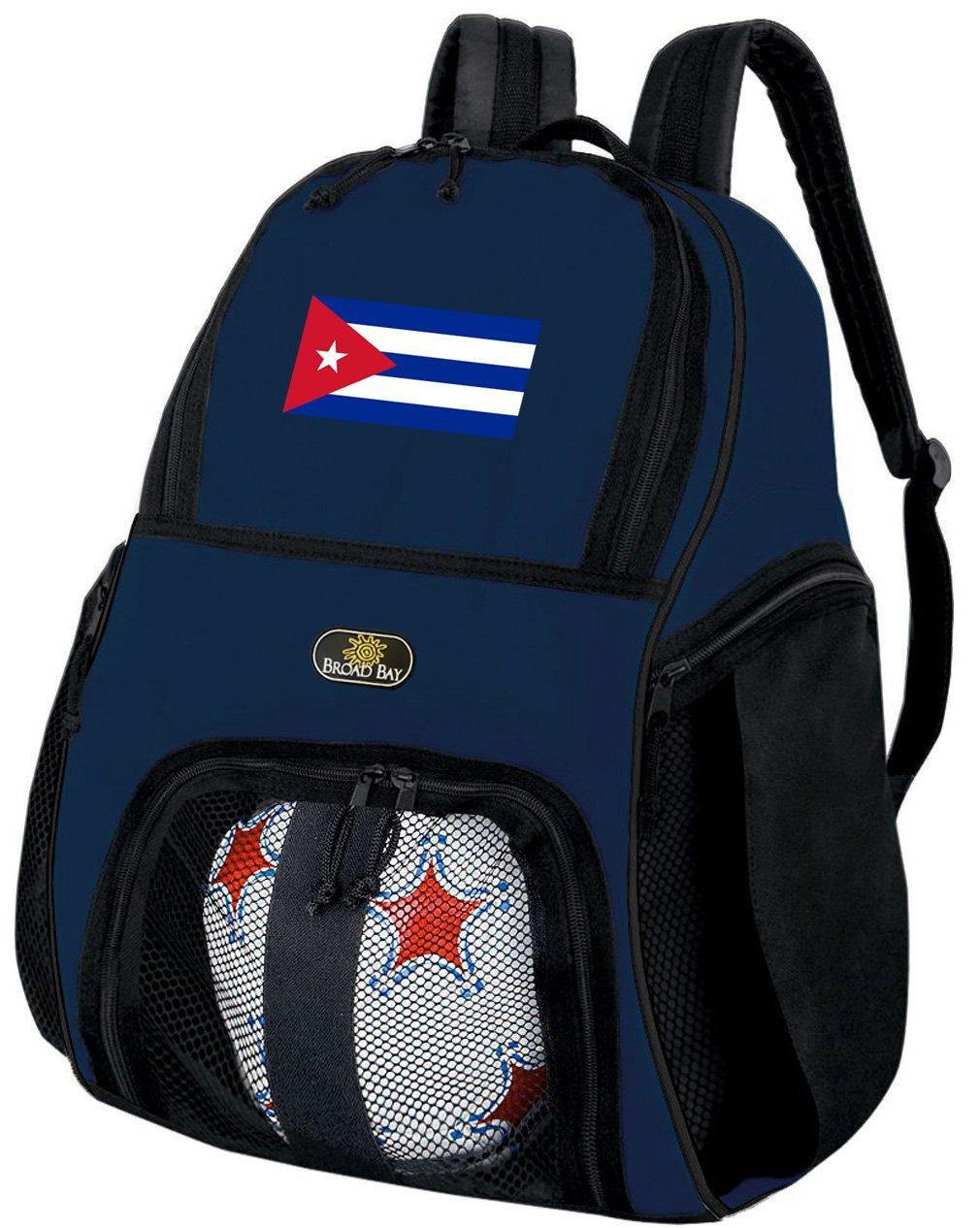 Broad Bayキューバサッカーバックパックバレーボールバッグネイビー   B07D193R7Z