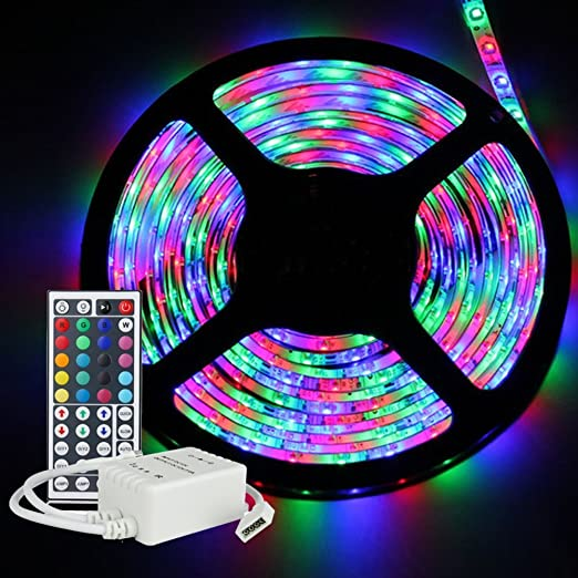 Inextstation flexible rgb led light strip 5m164ft smd 3528 led inextstation flexible rgb led light strip 5m164ft smd 3528 led strip light aloadofball