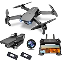 $79 » NEHEME NH525 Foldable Drones with 720P HD Camera for Adults, RC Quadcopter WiFi FPV…