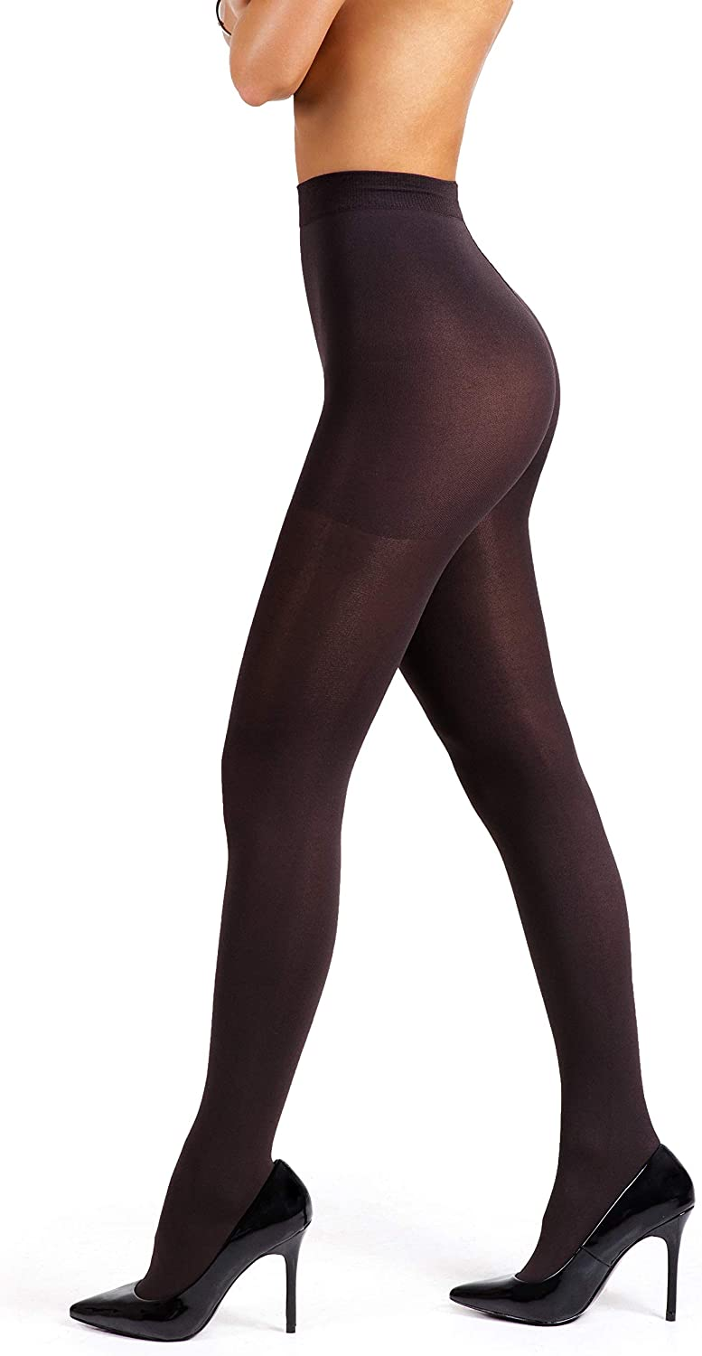 sofsy Super Opaque Tights for Women Made in Italy 100 Den Winter Thermal Stockings