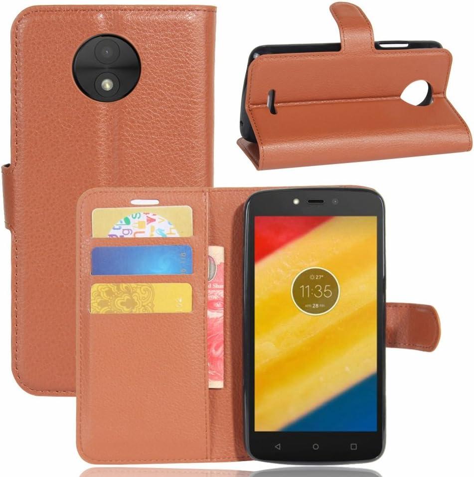 Guran® Funda de Cuero PU para Meizu A5 / M5C Smartphone Función de ...