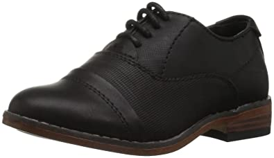 2ae47b8f7 Steve Madden Boys  THENRY Oxford Black 9 M US Toddler