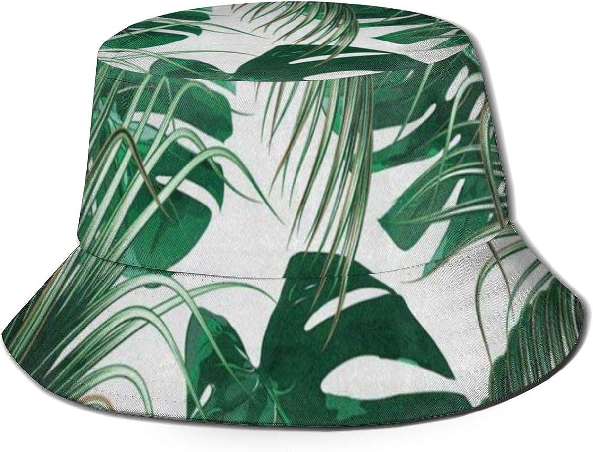 LINGJIE Pickle Rick Bucket Hat Reversible Fisherman Hat Travel Bucket Beach Sun Hat Outdoor Cap Black