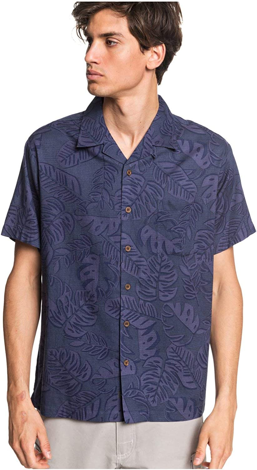 Quiksilver Men's Industry No. 1 Jungle Woven Life Sale Special Price