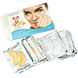 BeauteHacks Bye Bye Dark Circles + Hello, Bright Eyes Under Eye Patches To Reduce Dark Circles, Puffiness, Eye Bags & Wrinkles! 24K Gold Eye Masks + Hyaluronic Booster For Men and Women
