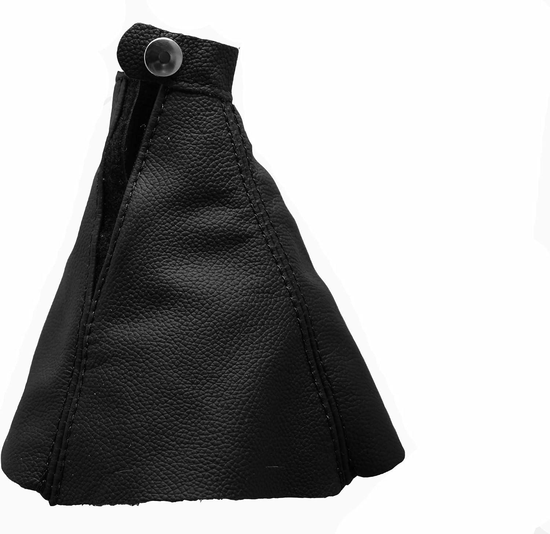 Para HYUNDAISONATAV Modelos 2005-2010 Funda para Palanca de Cambio 100/% Piel Color Negro
