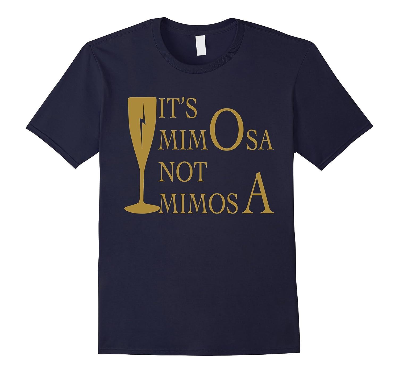 Women Tee - Its mi-mO-sa not mi-mo-sA-Vaci