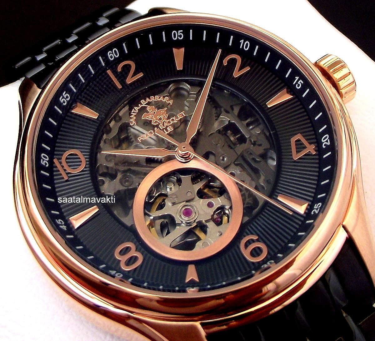 Santa Barbara Polo & Racquet Club SB.7.1152.6 - Reloj automático ...