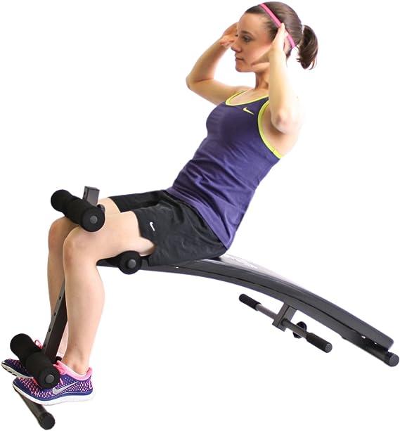 Inclinado banco de abdominales para entrenar la musculatura ...