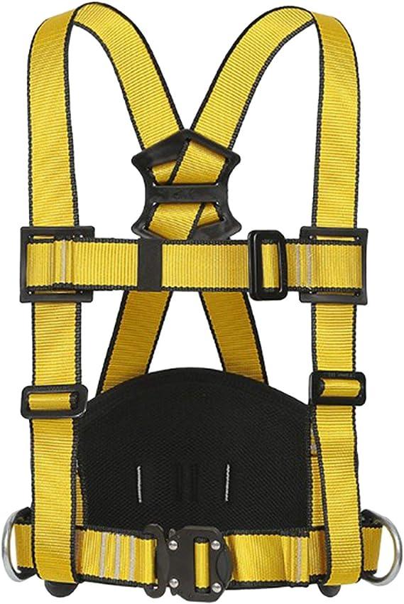 Perfeclan Arnés de Seguridad de Escalada Grueso, cinturón de ...
