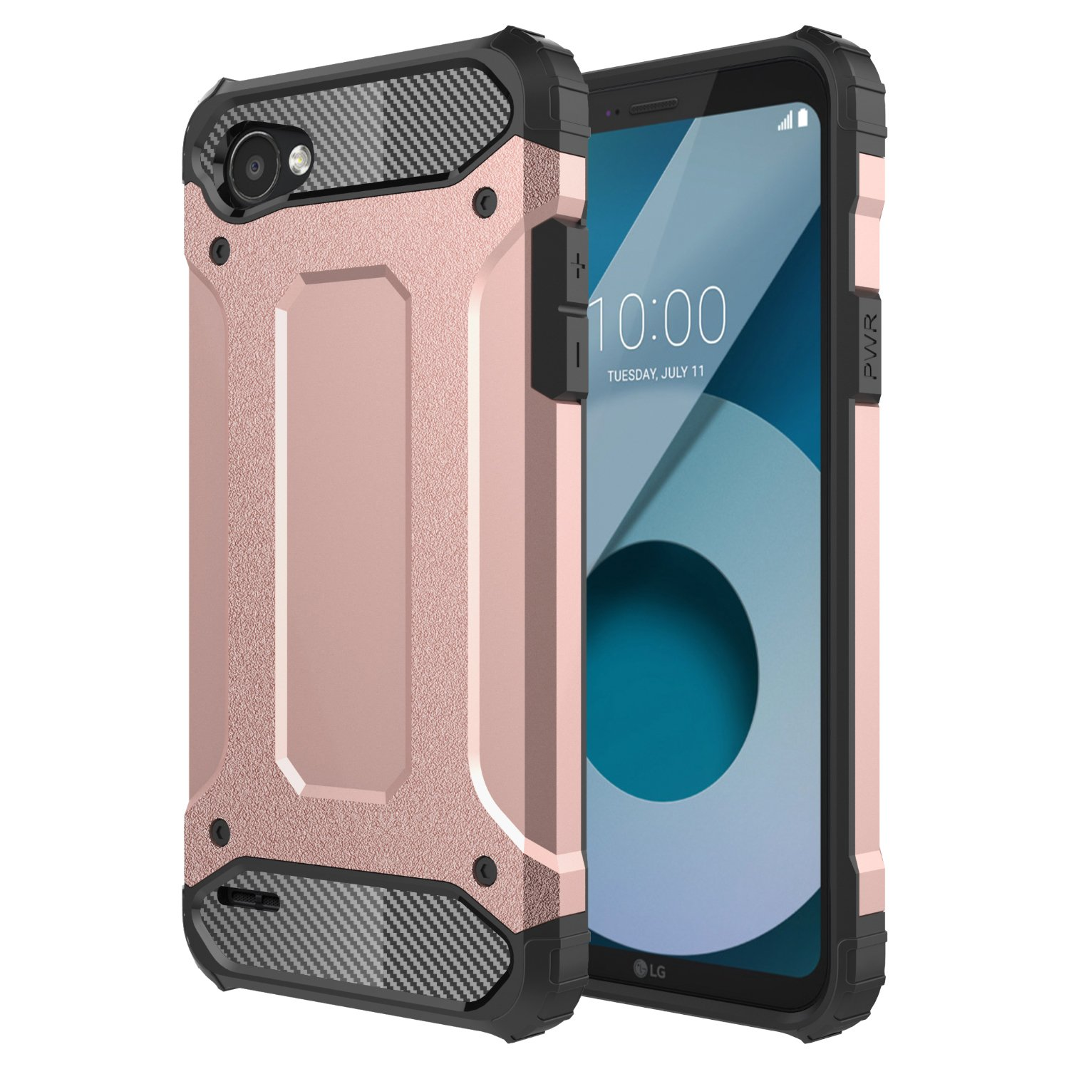buy popular 56083 a3fe4 LG Q6 Case, LG Q6 Plus Case, LG Q6+,LG G6 MINI, Torryka Premium ANTI DROP  PROTECTION SLEEK SLIM FIT Anti-scratch Dual Layer Shockproof Dustproof  Armor ...