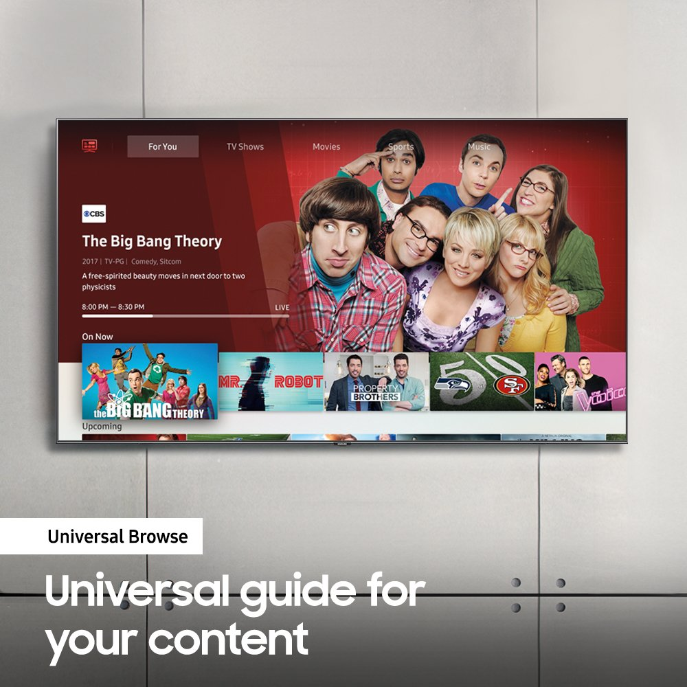 Samsung UN50NU7100 Flat 50'' 4K UHD 7 Series Smart TV 2018 by Samsung (Image #9)