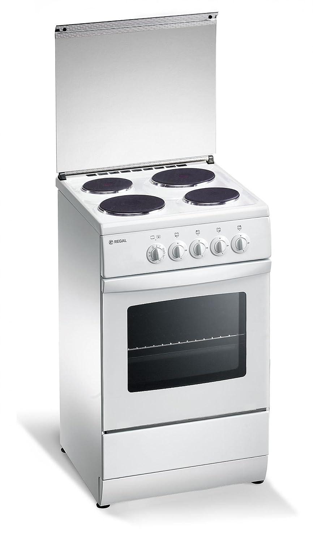 REGAL R 15 W Cucina a 4 Piastre Elettriche Forno Elettrico 50 x 50 ...