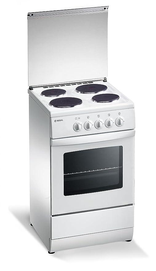 Cocina eléctrica de 50x50x85 cm con 4 placas y horno eléctrico ...