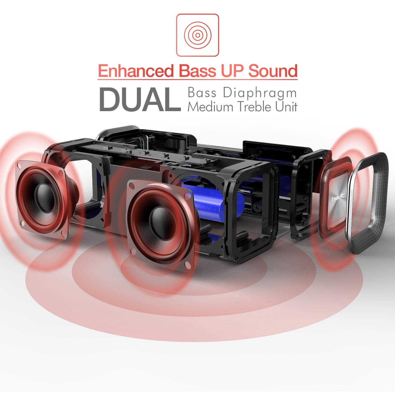 Havit Bluetooth Lautsprecher Box, 10W Kabellose Lautsprecher ...