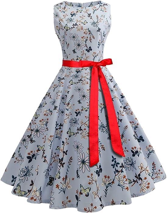 8af773751145e7 50s Retro Vintage Rockabilly Kleid Partykleider Knielanges Cocktailkleider  Jahr hochzeit Party Weihnachtskleid