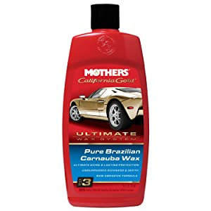 Mothers 05750 California Gold Pure Brazilian Carnauba Liquid Wax (Ultimate Wax System, Step 3)