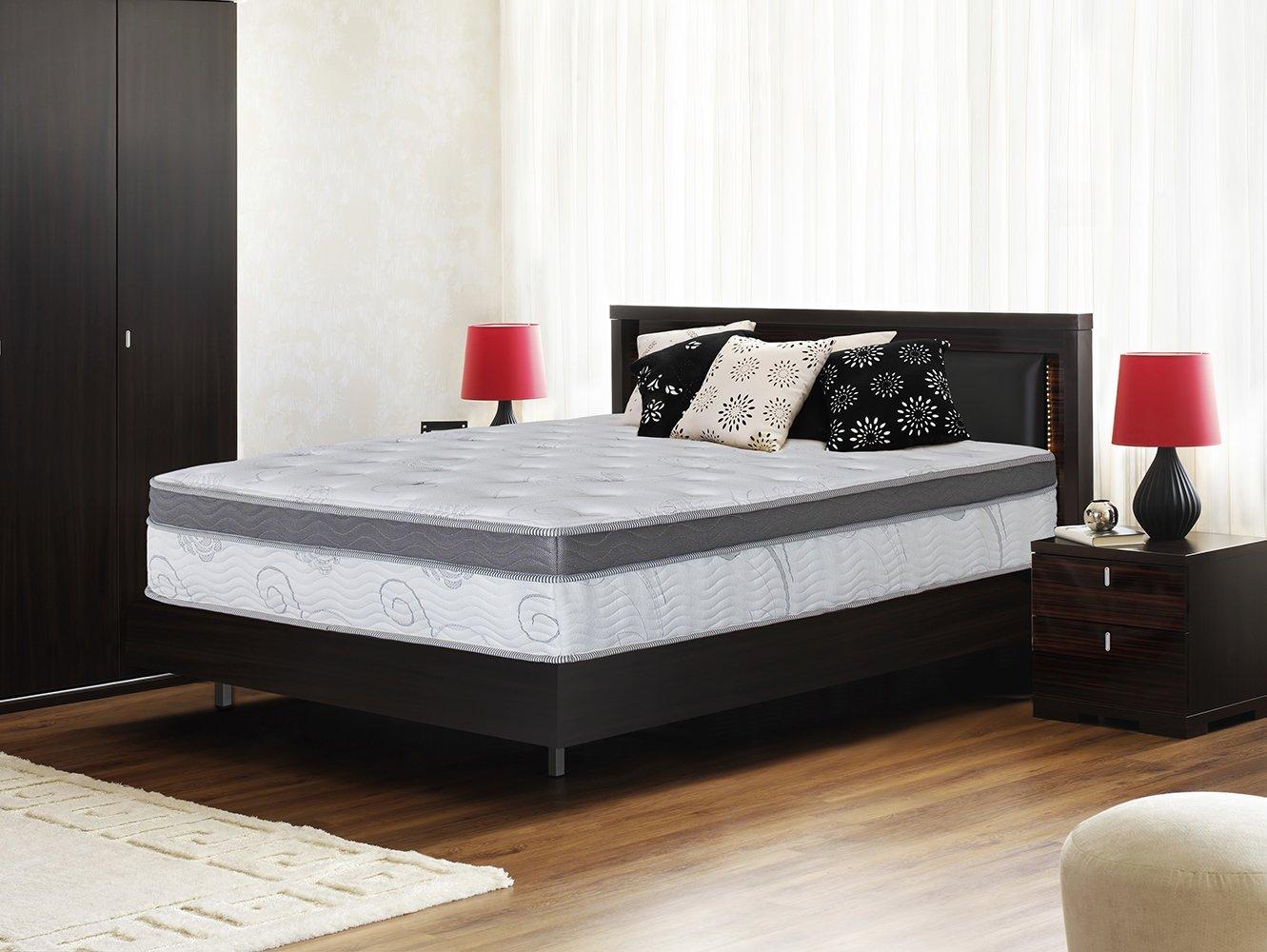 Olee Sleep 13 Inch Box Top Hybrid Gel Infused Memory Foam Innerspring Mattress