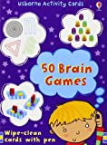 50 Brain Games (Activity and Puzzle Cards)