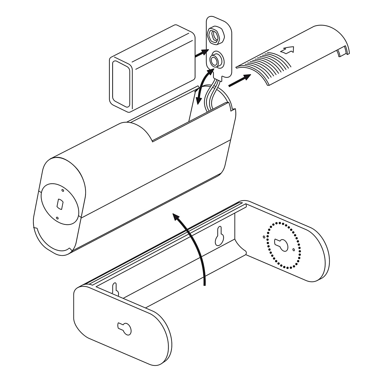SEBSON Sensor Movimiento con alarma y con sonido para tiendas Alimentado por Bater/ía Alarma timbre Alarma de Seguridad