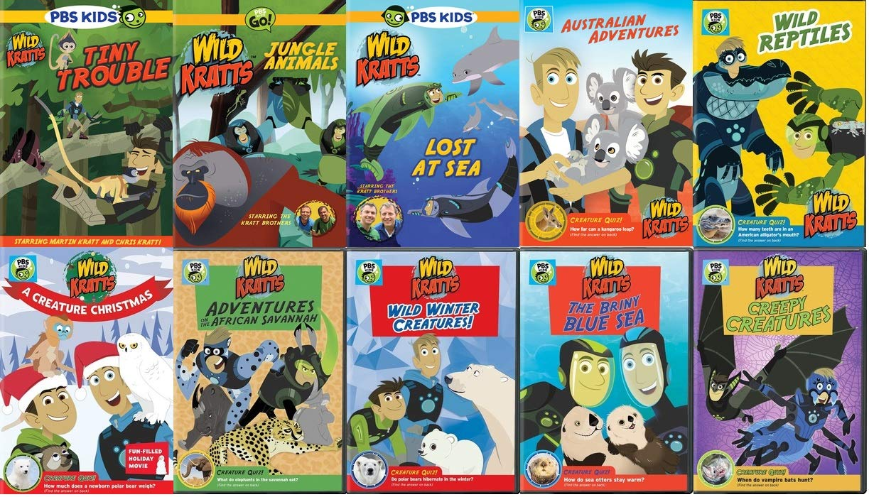 Wild Kratts Ultimate Collection