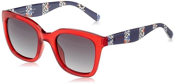 Tommy Hilfiger TH 1512/S 9O, Gafas de Sol Unisex-Adulto, Red, 50: Amazon.es: Ropa y accesorios
