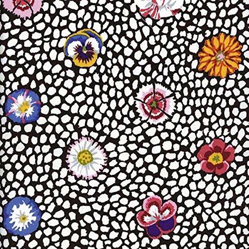 Free Spirit Fabrics Kaffe Fassett Perennials White Guinea Flower