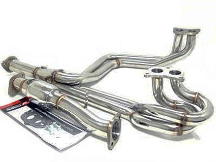 Amazon com: OBX Performance Exhaust Header 98-03 SUBARU IMPREZA