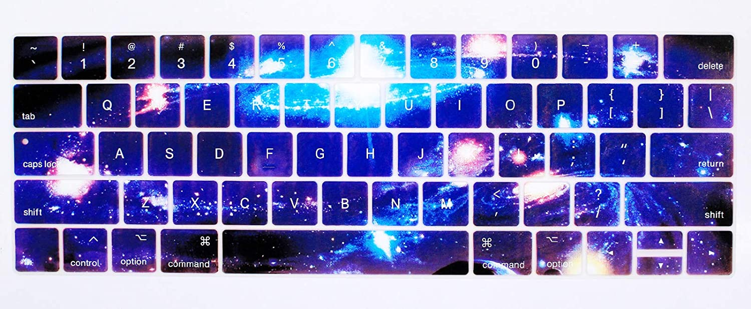 15 inches, Picture Color 4 Various Keyboard Film Skin Series Apple Laptop 15-inch Keyboard Film Protective Cover 15-inch Keyboard Cover and Silicone Keyboard Protective Film