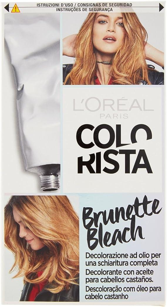 LOreal Paris Colorista Coloración Temporal Tono Effect Brunette Bleach - 225 gr
