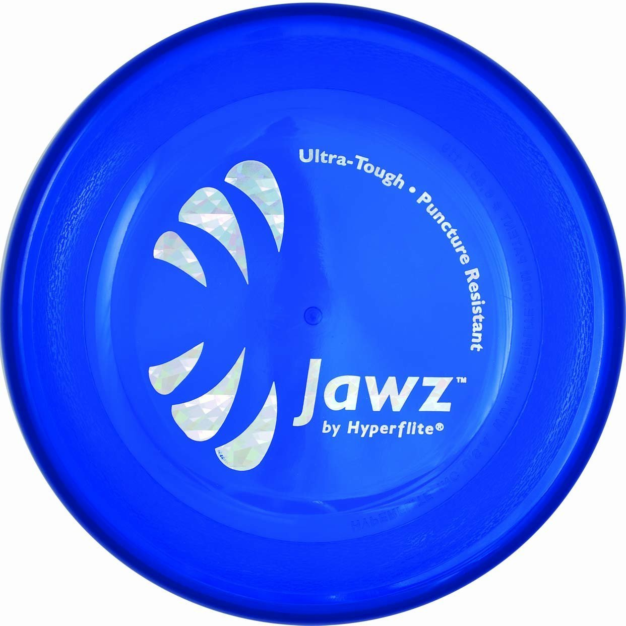 Hyperflite Jawz  Blueberry 2 Pack Competition Dog Disc 8.75 Inch, Worlds Toughest, Best Flying, Puncture Resistant, Dog Frisbee, Not a Toy Competition Grade, Outdoor Flying Disc Training by Hyperflite