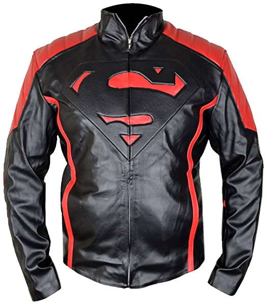 Amazon.com: mshc Negro Superman V2 Fitted Smallville de ...