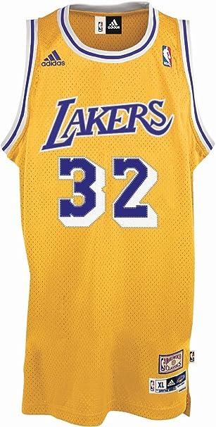 adidas Basketballtrikot Magic Johnson Swingman - Prenda para Hombre