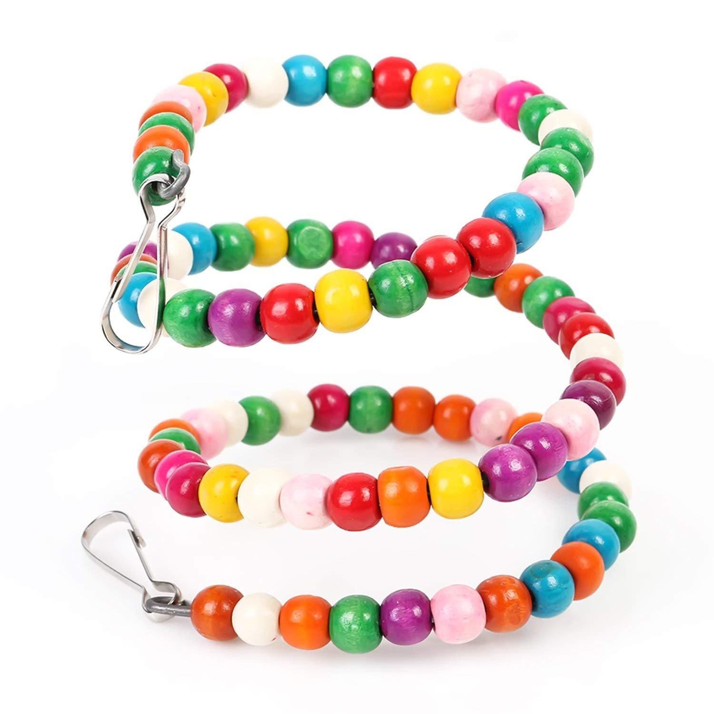 SGerste - Arnés de Cuerda para pájaros Flexible y Colorido para ...