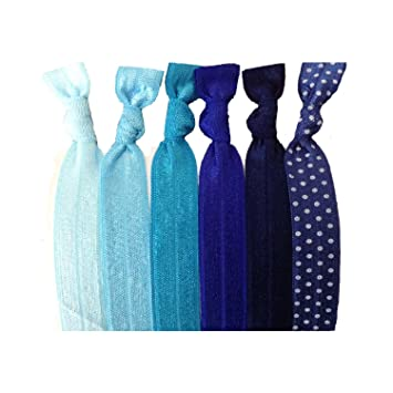 Amazon.com   Active Accessories On-The-Go Hair Bands - Go from work to the  gym in style (Cool)   Ponytail Holders   Beauty 41783b633dc