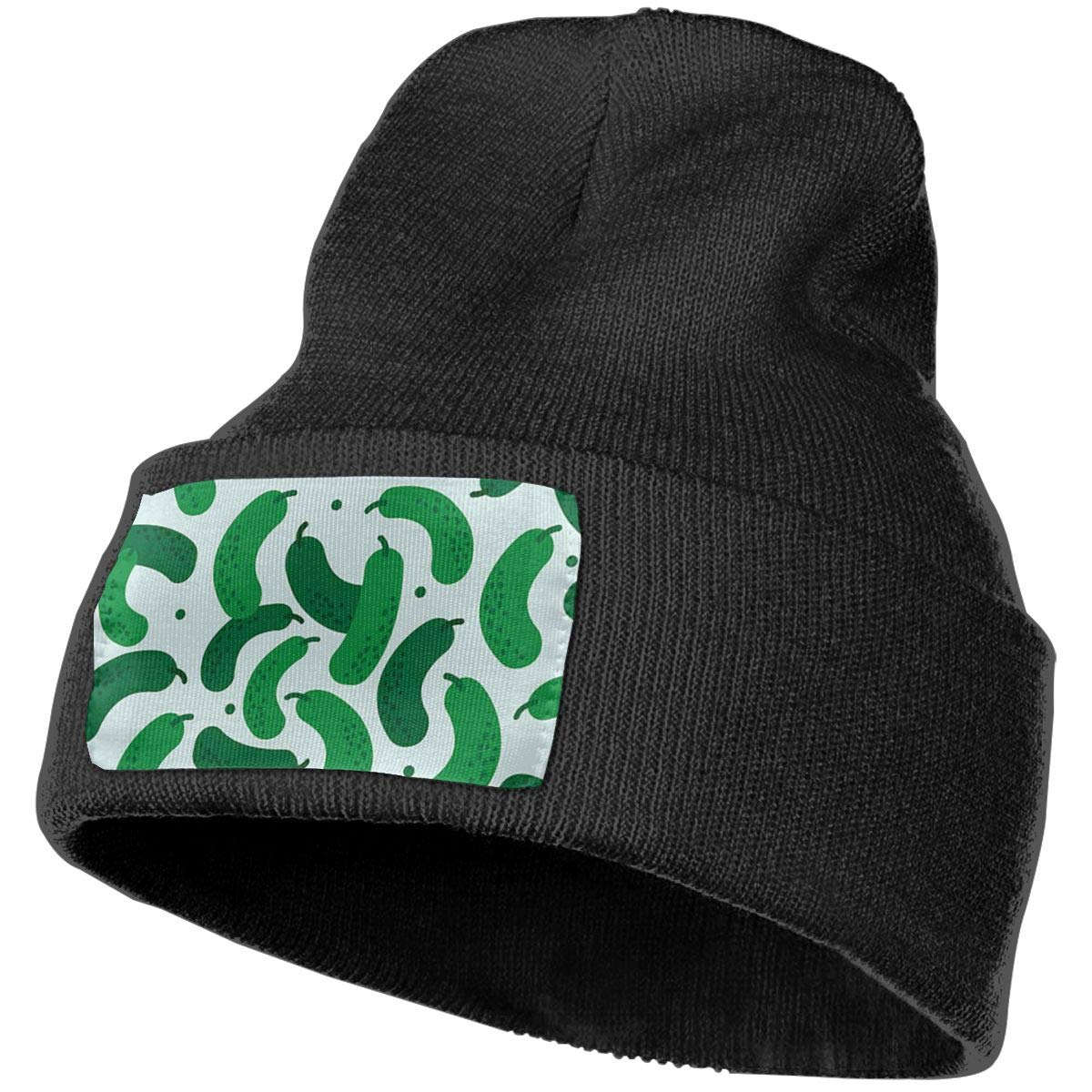 COJOP Pickles Winter Beanie Unisex Cuffed Plain Skull Knit Hat Cap