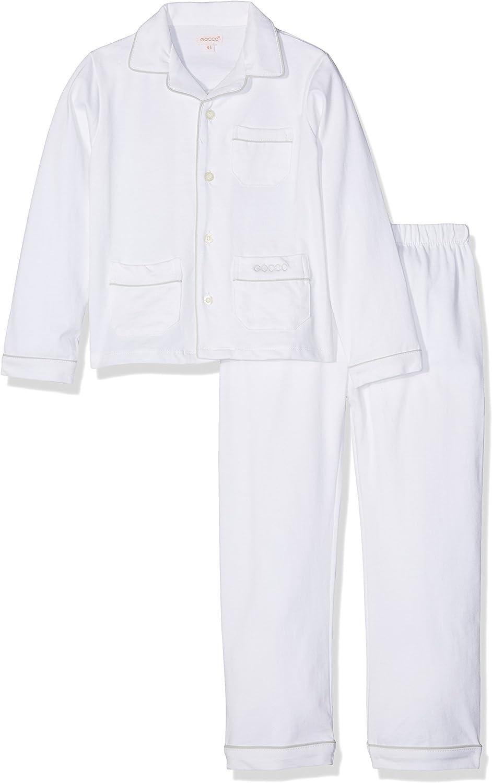 Gocco S72LTLCA502, Conjuntos de Pijama para Niños, Blanco, 92 ...