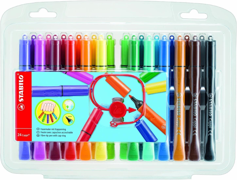 FASERMALER 60 Stück Filzstifte Verschiedene Farben für kinder und Erwachsene