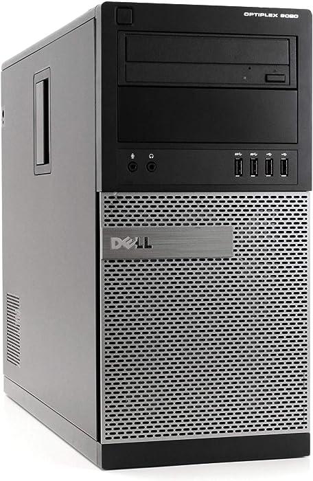 Dell OptiPlex 9020 High Performance Business Desktop Computer, Intel Quad-Core i7-4790 up to 4.0GHz, 16GB RAM, 1TB SSD, DVD-RW, WiFi, USB 3.0, Windows 10 Professional (Renewed)