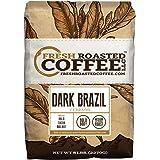 Dark Brazilian Cerrado, Whole Bean Coffee, Fresh Roasted Coffee LLC (5 lb.)