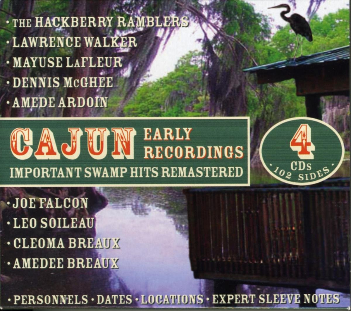 Cajun Early Recordings by Jsp Records