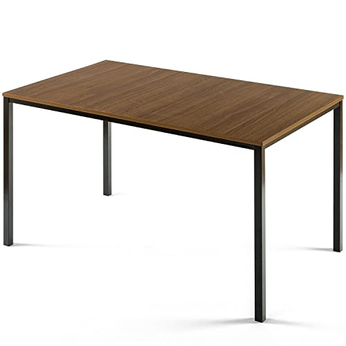 Zinus Dessa Modern Studio Collection Soho Dining Table Office Desk Computer Desk Table Only, Brown