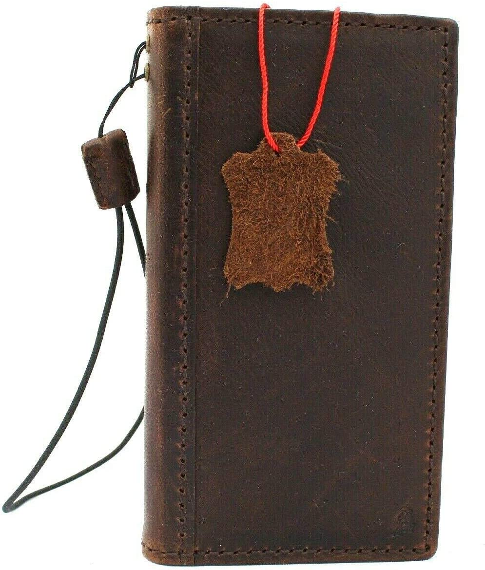 Genuine Real Leather Case for iPhone 11 pro max Book Wallet Handmade Thin Cover Luxury Oiled Cards Jafo Slots Slim Retro Soft Holder DavisCase