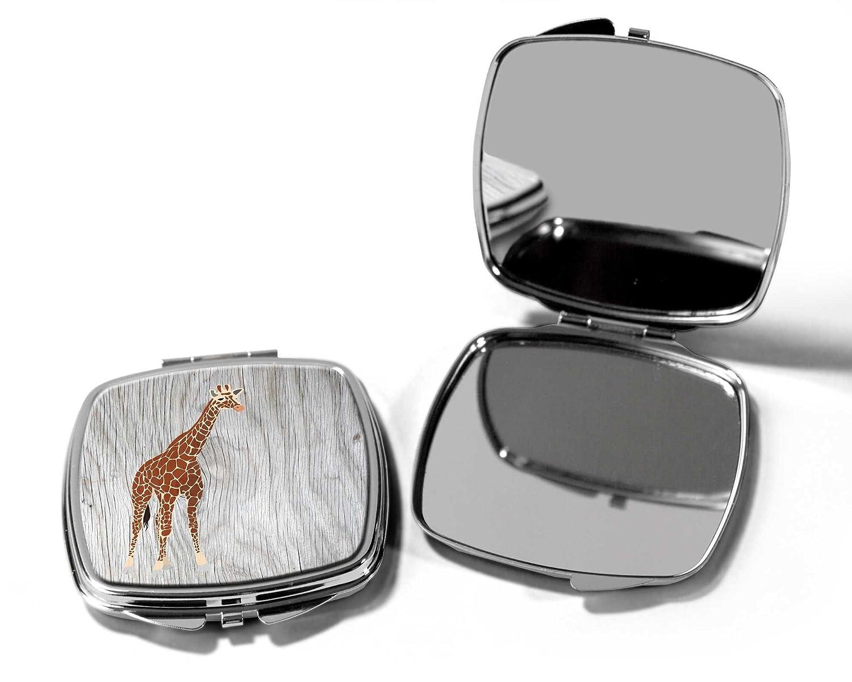 Giraffa Pocket Compact make up Mirror SilverKangaroo