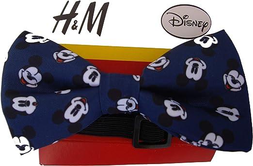Pajarita de poliéster corbata de moño lazo Niño Disney MICKEY ...